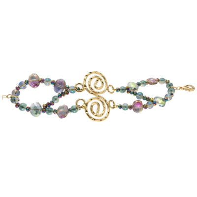 Etherea Pulsera Espiral Verde Zoom Out